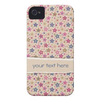 Beige enrrollado de las estrellas subió iPhone 4 cárcasas