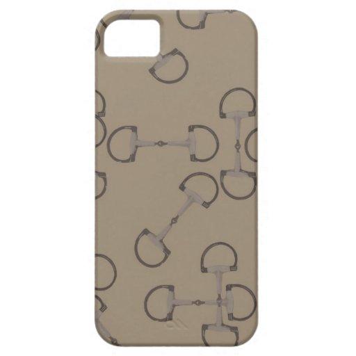 Beige Equestrian Horse Bits iPhone 5 Cases