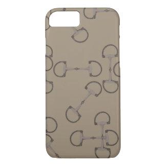 Beige Equestrian Horse Bits iPhone 8/7 Case