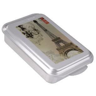 Paris Themed Cake Pans Zazzle