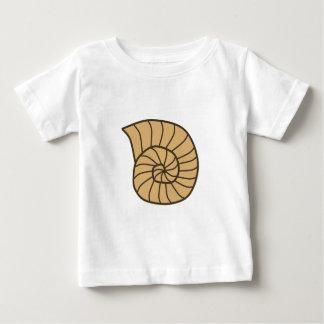 Beige Fossil Shell (Ammonoidea) T-shirt
