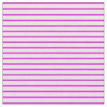[ Thumbnail: Beige & Fuchsia Pattern of Stripes Fabric ]