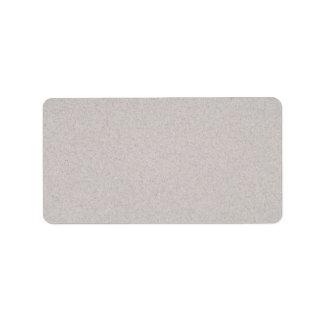 Beige granite label