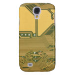 Beige Green Circuit Board Texture 1 iPhone 3G Case Galaxy S4 Covers