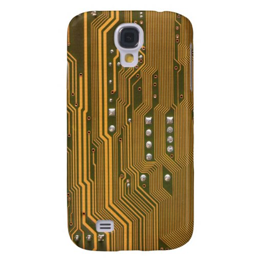 Beige Green Circuit Board Texture 2 iPhone 3G Case Samsung Galaxy S4 Covers