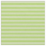 [ Thumbnail: Beige & Green Lines Fabric ]