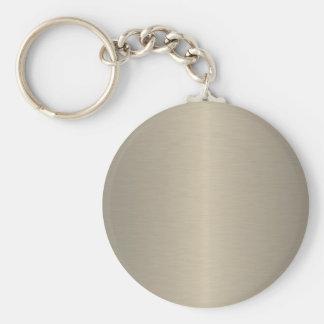 Beige Keychain