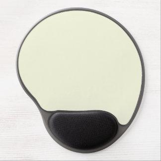 Beige, Light Grey, Cream. Fashion Color Trends Gel Mouse Mats