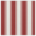 [ Thumbnail: Beige & Maroon Colored Pattern Fabric ]