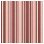 [ Thumbnail: Beige & Maroon Colored Stripes/Lines Pattern Fabric ]