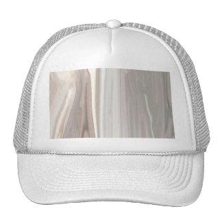 Beige Moire Trucker Hat