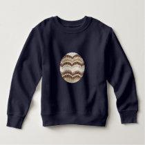 Beige Mosaic Toddler Sweatshirt