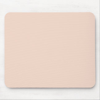 Beige Peach Pink Color Trend Blank Template Mouse Pad
