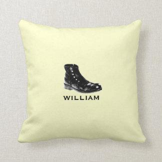 Beige personalizado de la almohada el | de los Sou