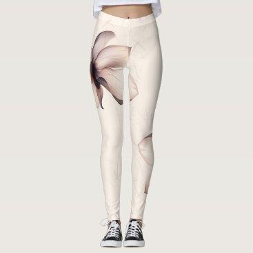 Beige \ Pink \ Brown Leggings