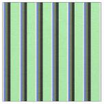 [ Thumbnail: Beige, Royal Blue, Dark Olive Green, Black & Green Fabric ]