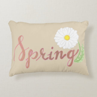 Beige Spring Pillow