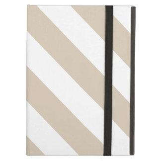 Beige Stripes Case For iPad Air