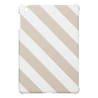 Beige Stripes Case For The iPad Mini