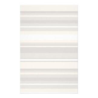 Beige stripes stationery