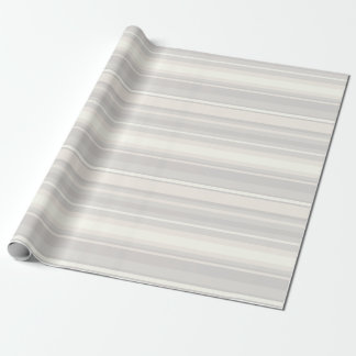 Beige stripes wrapping paper