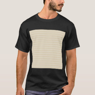 Beige Tan Color Stripe Pattern. T-Shirt