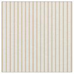 [ Thumbnail: Beige & Tan Striped/Lined Pattern Fabric ]
