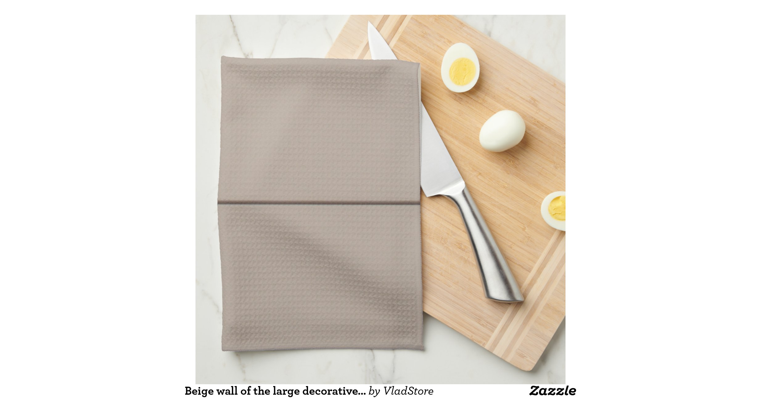 Beige wall of the large decorative tiles kitchen towels zazzle - Decorative tiles for kitchen walls ...