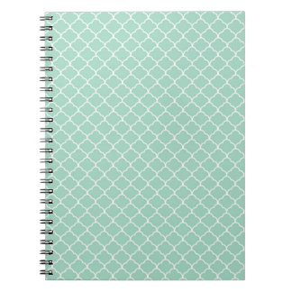 Beige White Sixties Scales Pattern Journal