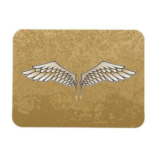 Beige wings magnet