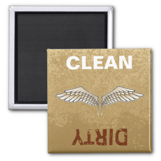 Beige wings magnet