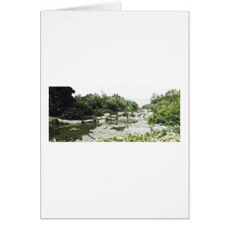 Beijing BotanicalGardens Drawing Card