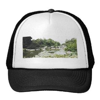 Beijing BotanicalGardens Drawing Trucker Hat