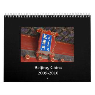 Beijing, China2009-2010 Calendar