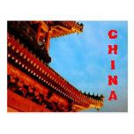 Beijing China postcard