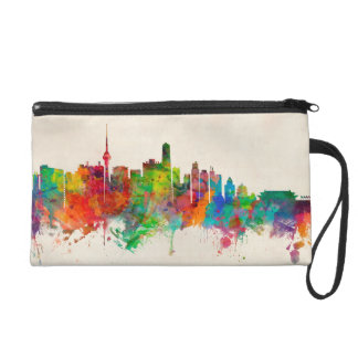 Beijing China Skyline Wristlet