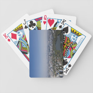 Beijing Cityscape Bicycle Playing Cards