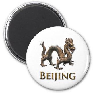 BEIJING Dragon 2 Inch Round Magnet