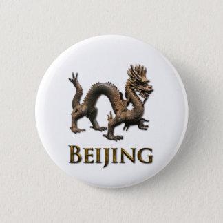 BEIJING Dragon Pinback Button