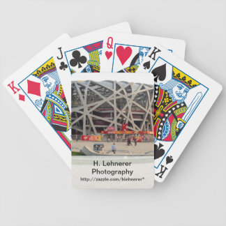 Beijing National Olympic Stadium Bicycle Playing Cards