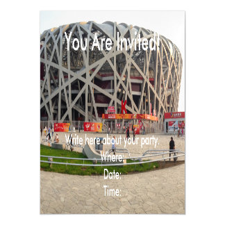 Beijing National Olympic Stadium Magnetic Card