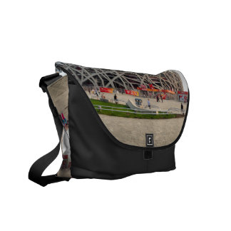 Beijing National Olympic Stadium Messenger Bag