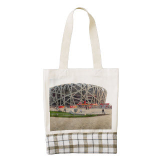 Beijing National Olympic Stadium Zazzle HEART Tote Bag