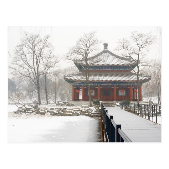 Beijing old Summer Palace Postcard