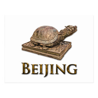 BEIJING Turtle Postcard