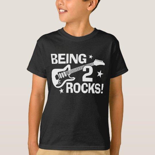 Being 2 Rocks T-Shirt
