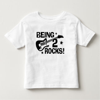 Being 2 Rocks Toddler T-shirt
