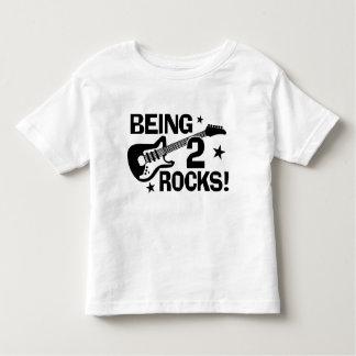 Being 2 Rocks Toddler T-shirt