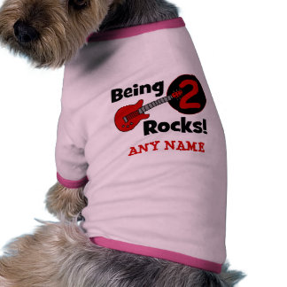 Being 2 Rocks! with Guitar Pet T-shirt