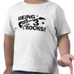 Being 3 Rocks T-shirt
